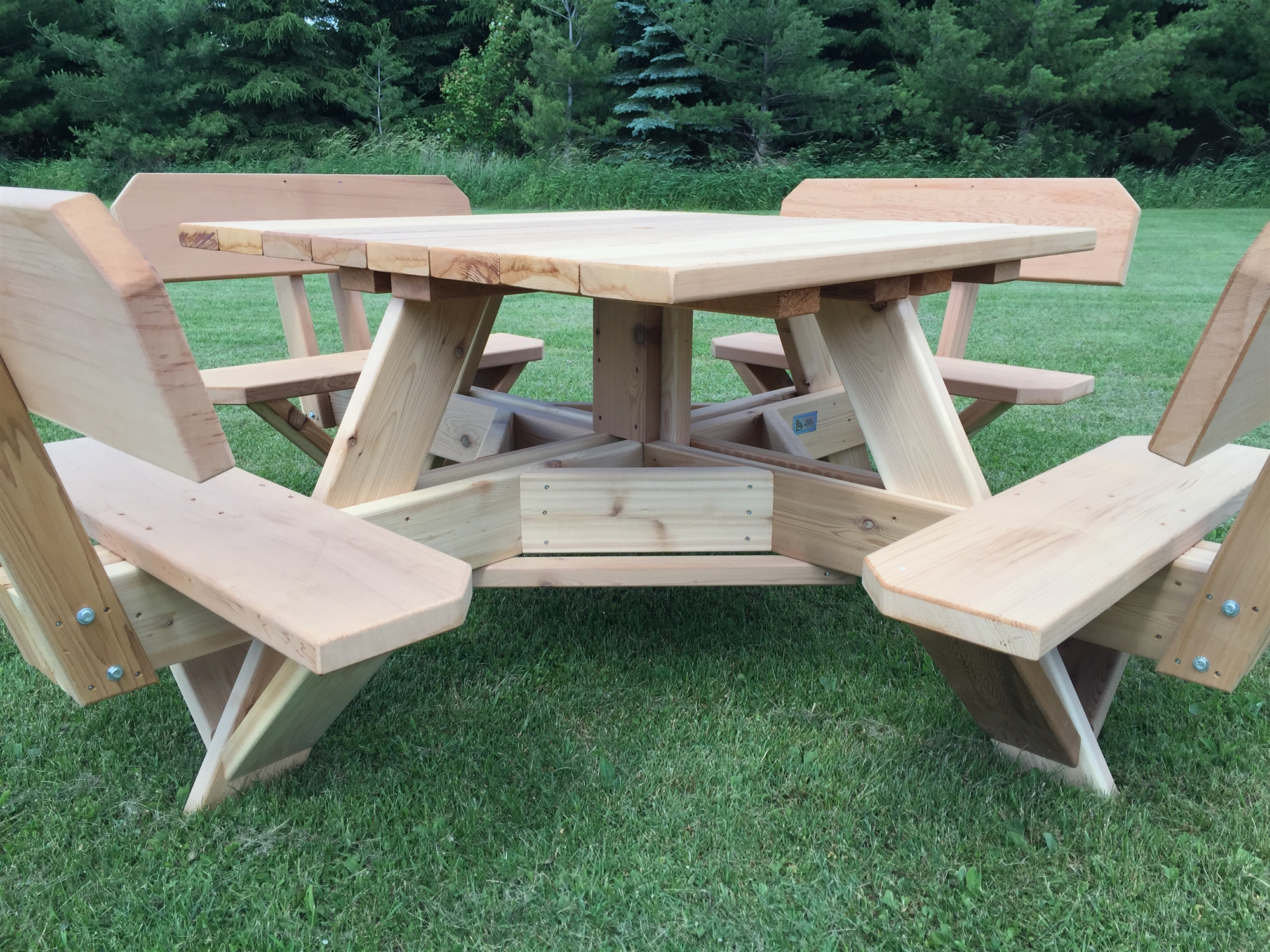 small patio table with umbrella hole 45 picnic table. Black Bedroom Furniture Sets. Home Design Ideas