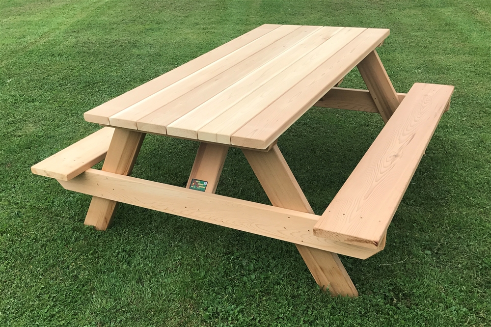 6' Master Picnic Table with Seats