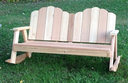 Ozark Love Seat Rocker