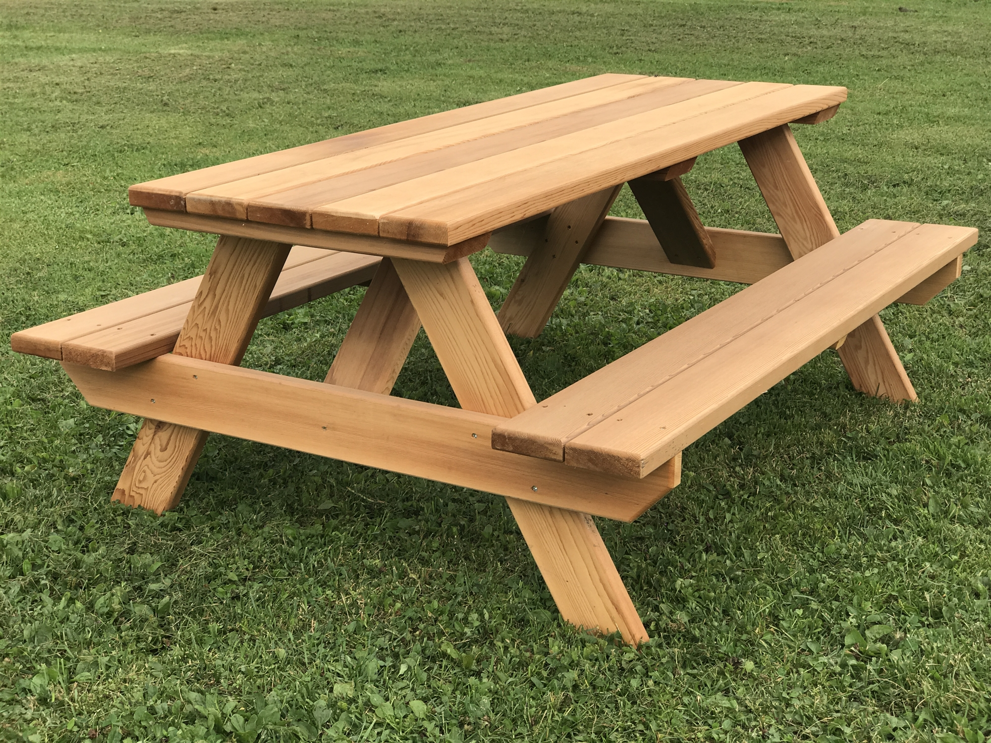 "48"" Kids Picnic Table. Easy to move, seats 6 children. 48 ..."