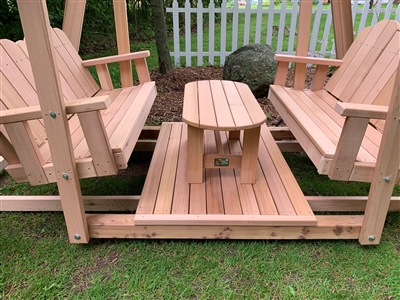 Handcrafted Swings and Gliders built of Western Red Cedar in Spencer ...