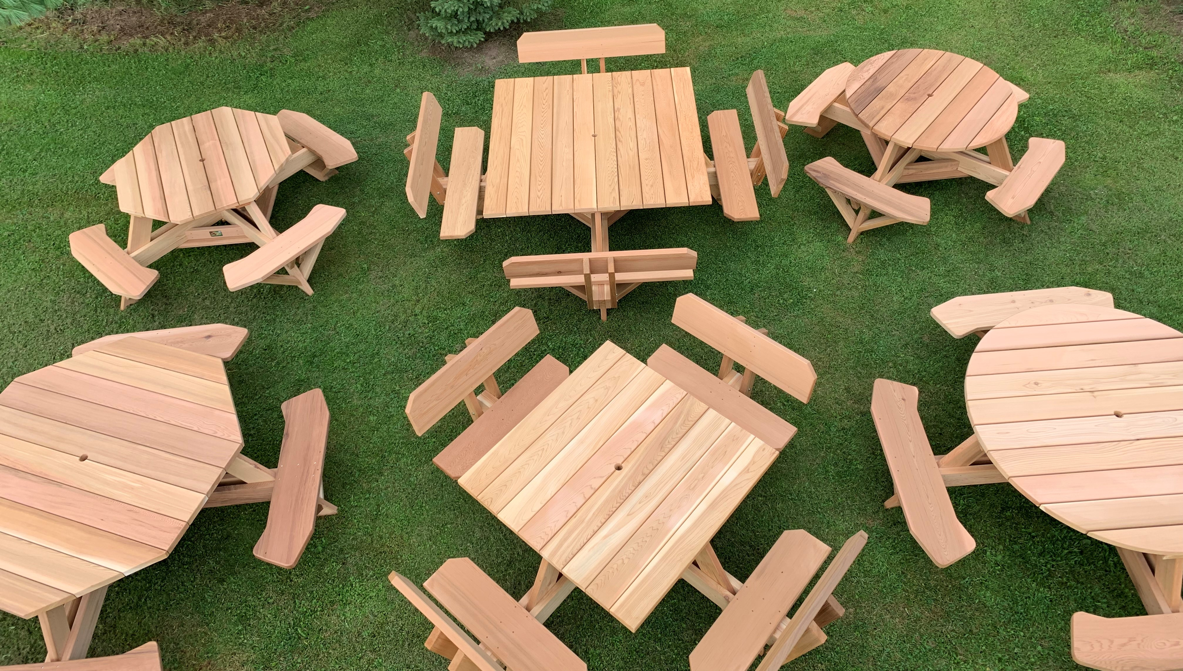 Dan S Outdoor Furniture Handcrafted Cedar Furniture For The Outdoors