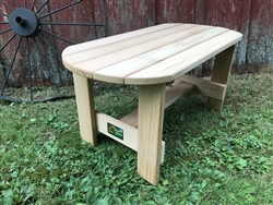 "36"" Oval Table"