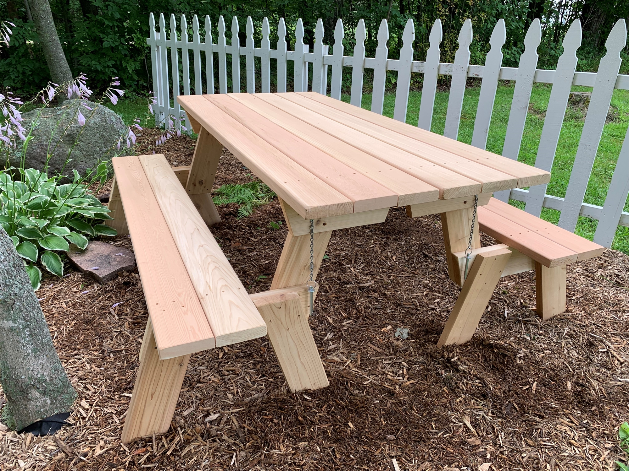 Large 72 Quot Combination Folding Picnic Table Amp Park Bench